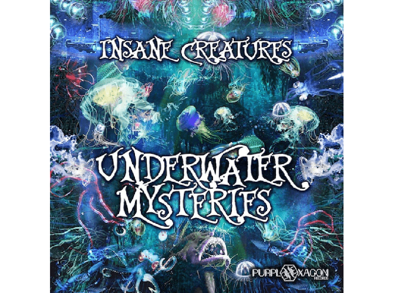 Insane Creatures - Underwater Mysteries [CD]