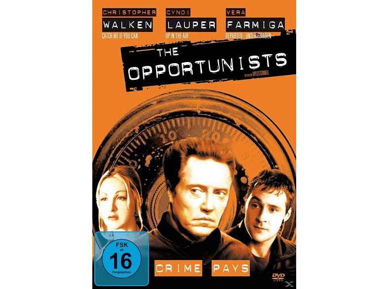 The Opportunists-Crime Pays [DVD]