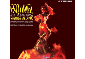 Juan Garcia Esquivel - Strings Aflame+Latin-Esque - (CD)