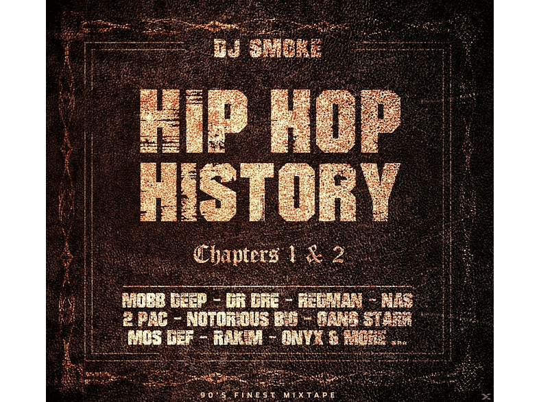 VARIOUS - Hip Hop History Chapters 1 & 2 [CD]