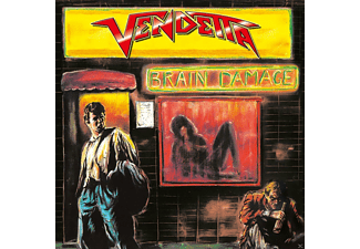 The Vendetta - Brain Damage (Re-Release) - (CD)