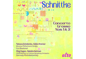 Tatiana Grindenko, Gidon Kremer, Oleg Kagan, Moscow Philharmonic Society, USSR Minstry Of Culture Symphony Orchestra, Gutman Natalia - Concerti Grossi 1 & 2 - (CD)