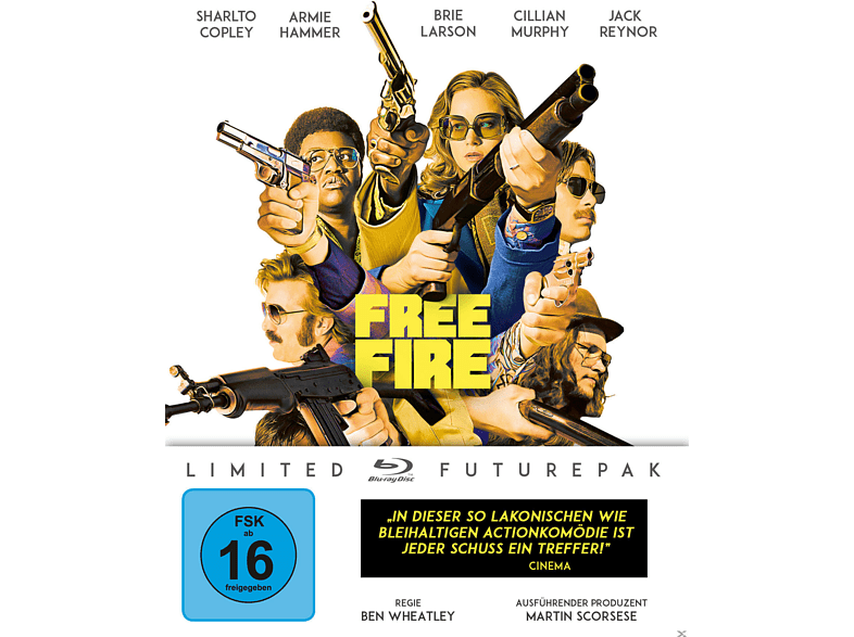 Free Fire (Ltd. Special Edition) [Blu-ray]