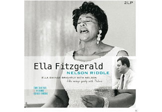 Ella Fitzgerald, Nelson Riddle - SWINGS BRIGHTLY WITH NELSON RIDDLE - (Vinyl)