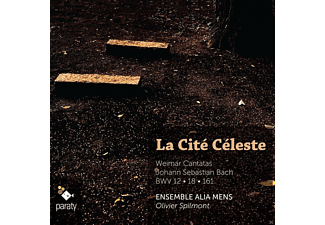 Olivier Spilmont, Ensemble Alia Mens - LA CITE CELESTE - (CD)
