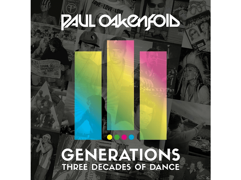 VARIOUS - GENERATIONS - THREE DECADES OF DANCE [CD]