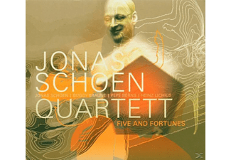 Jonas Schoen - Five And Fortunes,Quartet V 3 - (CD)