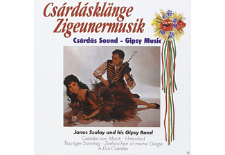 Janos Szalay And His Gypsy Band - Csardas - (CD)