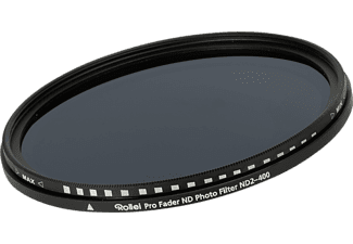 ROLLEI Pro Fader ND Photo Filter ND2-400 58mm (26060)
