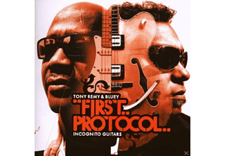 Incognito Guitars:remy&bluey - FIRST PROTOCOL - (CD)