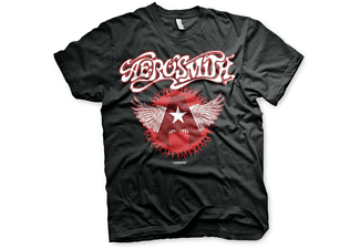 Aerosmith T-Shirt Flying A Logo L