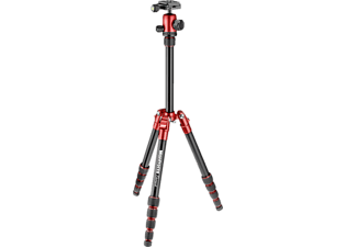 MANFROTTO MKELES5 Element, Stativ, Rot/Schwarz