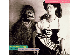VARIOUS - Crazy & Obscure-Novelty Songs 1914-1946 [CD]