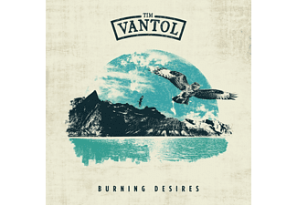 Tim Vantol - Burning Desires (Ltd.Blue Vinyl+CD) - (LP + Bonus-CD)