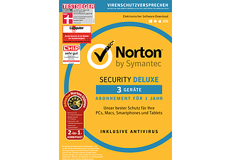Norton Security Deluxe (3 User) inklusive Norton Utilities
