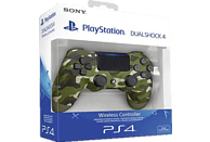 SONY PS4 Wireless DS v2 , Controller, Camouflage Grün