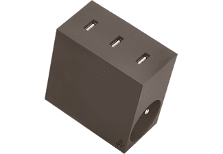 USBEPOWER Netadapter 5-in-1 HIDE Taupe (USBE_HIDE_4.4_T)