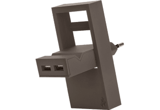 USBEPOWER Netadapter 2-in-1 ROCK Taupe (USBE_ROCK_BGE)