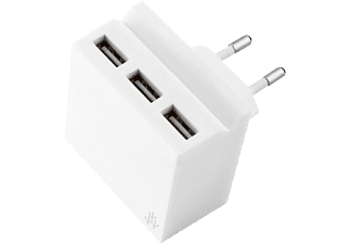 USBEPOWER Netadapter 3-in-1 HIDE MINI Wit (USBE_MINI_HIDE_WHITE)