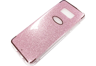 AGM Glow Galaxy S8 Back Cover, Pink