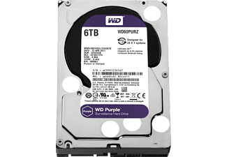 WD Purple™ BULK, 6 TB HDD, 3.5 Zoll, intern