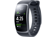 SAMSUNG  Gear fit 2 Smartwatch, Kunststoff, L, Dark Grey