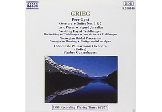 Czecho-Slovak State Philharmonic Orchestra - Peer Gynt Suites 1 And 2 / 3 Orchestral Pieces From Sigurd Jorsalfar - (CD)