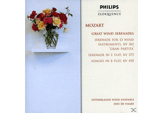 Netherlands Wind Ensemble - Great Wind Serenades - (CD)