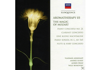 Alfred Prinz, András Schiff - Aromatherapy 03-Magic of Mozart - (CD)