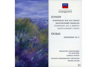 Charles Dutoit, Walter Weller, Orchestre Symphonique De Montreal, The London Philharmonic Orchestra - Symphony On A French Mountaineer's Song/Symphony In C - (CD)