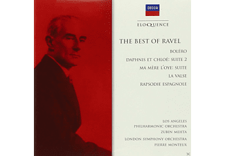 Los Angeles Philharmonic Orchestra, London Symphony Orchestra - Best Of Ravel - (CD)