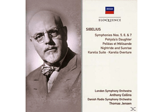 London Symphony Orchestra, Danish Radio Symphony Orchestra - Sibelius - Sinfonien 5,6 & 7 - (CD)