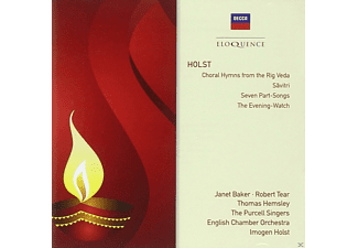 Janet Baker, Robert Tear, Thomas Hemsley, English Chamber Orchestra, Purcell Singers - Holst: Savitri, 7 Part Songs, Choral Hymns from the Rig Veda - (CD)