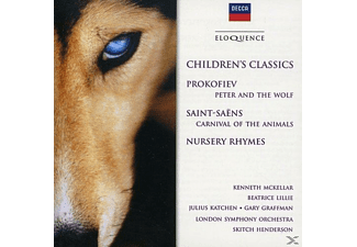 Kenneth Mckellar, Beatrice Lillie, Julius Katchen, Gary Graffman, London Symphony Orchestra - Children's Classics - (CD)