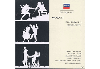 Gabriel Bacquier, Werner Krenn, Joan Sutherland, Marilyn Horne, English Chamber Orchestra, Richard Bonynge, Ambrosian Singers - Don Giovanni (Highlights) - (CD)