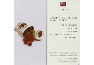 Principals of the D'Oyly Carte Opera Company, Royal Philharmonic Orchestra - Gilbert & Sullivan Favourites - (CD)
