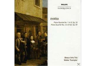 Beaux Arts Trio, Walter Trampler - Piano Quartets - (CD)