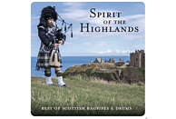 VARIOUS - Spirit Of The Highlands - Best Of Scottish Bagpipes & Drums [CD]