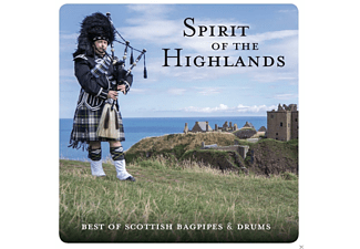 VARIOUS - Spirit Of The Highlands - Best Of Scottish Bagpipes & Drums - (CD)