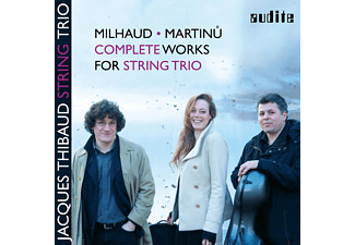 Jacques Thibaud String Trio - Complete Works For String Trio - (CD)