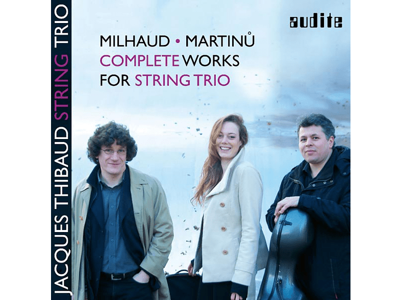 Jacques Thibaud String Trio - Complete Works For String Trio [CD]