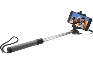 TRUST Foldable Selfie Stick - black
