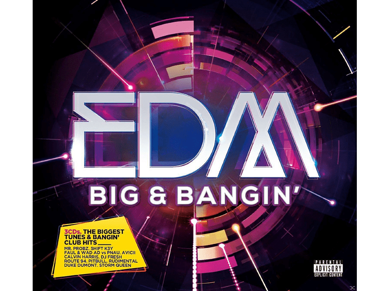 VARIOUS - EDM Big & Bangin' [CD]