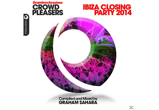 VARIOUS - Seamless Sessions Crowd Pleasers - Ibiza Closing Party 2014 - Complied and Mixed by Graham Sahara - (CD)