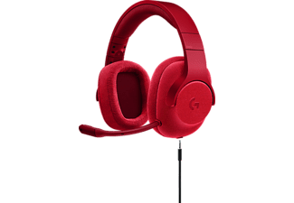 LOGITECH Casque gamer G433 7.1 Surround Gaming Headset Fire Red