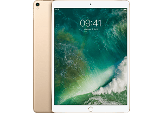 APPLE MPGK2FD/A iPad Pro Wi-Fi, Tablet mit 10.5 Zoll, 512 GB, iOS 11, Gold