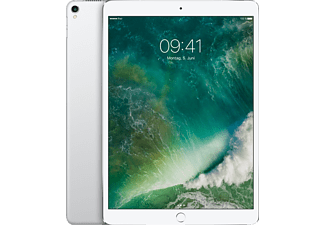 APPLE MQF02FD/A iPad Pro Wi-Fi + Cellular, Tablet mit 10.5 Zoll, 64 GB Speicher, LTE, iOS 10, Silber