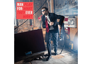 Man Forever - Play What They Want (LP+MP3) - (LP + Download)