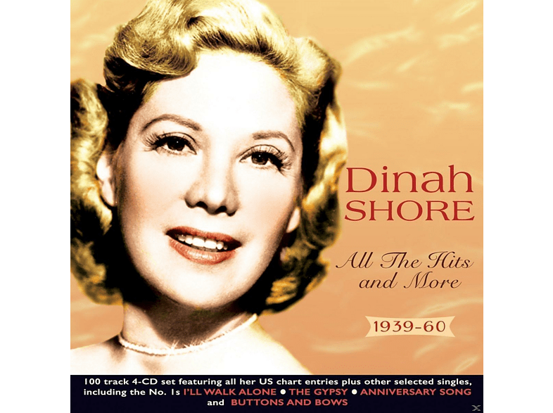 Dinah Shore - All The Hits And More 1939-60 [CD]