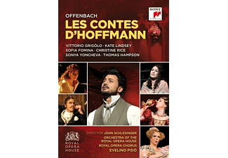 Thomas Hampson, Sofia Fomina, Royal Opera Chorus, Orchestra Of The Royal Opera House, Vittorio Grigolo, Christine Rice - Les Contes d'Hoffmann/Hoffmanns Erzählungen - (DVD)